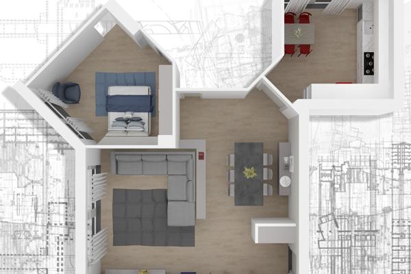 Progettazione d 39 interni novara roman arredamento per for Progettazione spazi interni